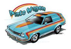Ford Pinto wagon street van ;-)