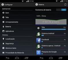Configuração da economia da bateria no novo Moto G (Foto: Reprodução)