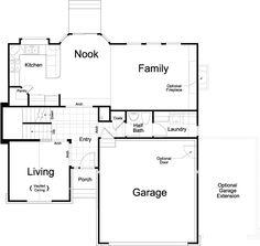 655ef50dd4da71d2c7f146d1be0125ec--home-floor-plans-ivory Vernet Footage Ivory Homes Floor Plan on