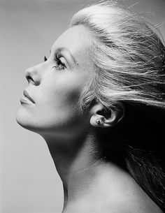 "beauvelvet: """"Catherine Deneuve photographed by Alexander Youssoupoff for The April Fools, 1969. "" """