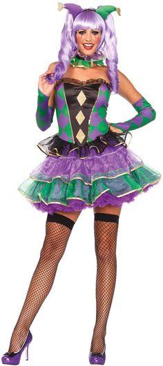 Adult Mardi Gras Sweetie Adult Costume
