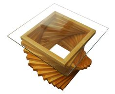 Items similar to Contemporary and Modern Morphing Coffee Table on Etsy Mod Furniture, Furniture Projects, Furniture Design, Glass Top Coffee Table, Coffee Table Design, Coffee Tables, Diy Table, Wood Table, Wooden Toy Cars