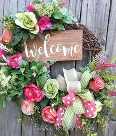 Wreath Crafts, Diy Wreath, Grapevine Wreath, Wreath Making, Wreath Ideas, Wreaths For Front Door, Door Wreaths, Front Porch, Summer Wreath
