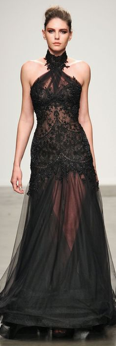 Fashion Palette at NYFW Spring 2014! This is so gorgeous......but so stick thin! http://www.wedding-dressuk.co.uk/prom-dresses-uk63_1