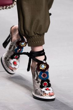 """The Spring '16 Runway Shows That Had Us Like """"OMG, Shoes"""""""