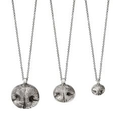 Custom Pet Nose Print Necklaces | dog nose, cat, silver | UncommonGoods