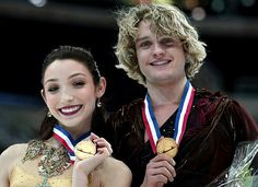 Cheryl Davis and Charlie White