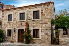 Old Stone House at Eski Foça-Izmir by eminipek