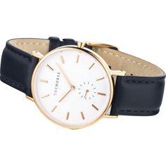 The Horse Classic Rose Gold Watch Black - Sportique