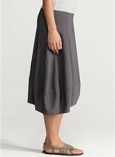 How fun is this skirt!  Eileen Fisher!