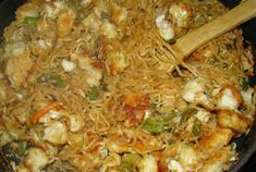 Orange Chicken Lo Mein-Pampered Chef recipe! (I had this for dinner tonight-it was fabulous!)
