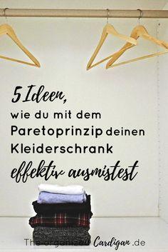 Detox f r den kleiderschrank 5 simple tipps f r eine for Minimalismus hausarbeit