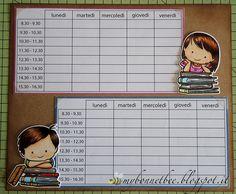 mybonnetbee: Pronti per la scuola! / Ready for school!