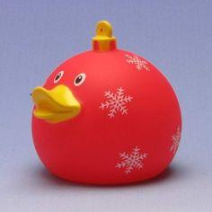 Duckshop - der Shop für Badeenten und Quietscheentchen - Weihnachtskugel Badeente