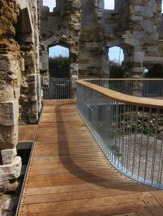 Sandsfoot Castle, Weymouth, 2012 - Levitate Architects