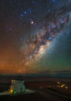 De la Residencia a la Vía Láctea