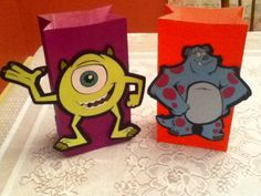 Cute Monsters Inc Party Goody Bags by Onecraftyhippo on Etsy, $2.00