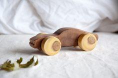 Wood toy car Wooden Push toy car Wooden toy car от MamumaBird