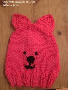 Mütze/Beanie - gehäkelt