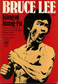 Bruce Lee King Of Kung Fu magazine cover, 1974