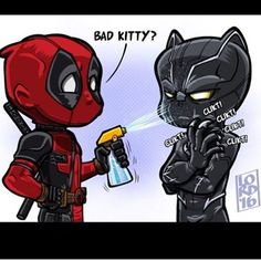 You're asking for it, Deadpool