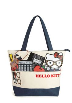 Mew Cool for School Tote by Loungefly - Blue, Multi, Print with Animals, Kawaii, Scholastic/Collegiate, Statement