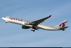 A7-AEC Qatar Airways Airbus A330-302 Military Aircraft, Airplanes, Transportation, Aviation, Religion, Commercial, Europe, Jets, Planes