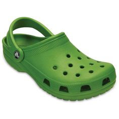 55840c4007453 Crocs Classic Clog K Kelly Green Unisex Kids Clogs Size