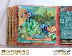 Nautical Album, by Elena Olinevich, Voyage Beneath the Sea, Product by Graphic45, Photo8a.jpg