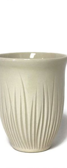 Grass Wine Cup In Ivory