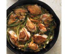 Braised Chicken with Orange and Scallions Recipe   Food Recipes - Yahoo Shine