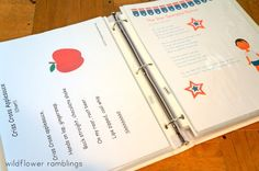 I am so excited to share my Preschool Circle Time Notebook with you today! We use this notebook all the time for singing, dancing, chanting, and enjoying one another. I keepBible songs, patriotic songs, recite poems and chants, and various activity ideas and lists in our binder. This post includes tons of resource ideas for...Read More »