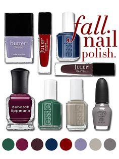 Fall Nail Polish Trends