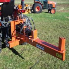 Our 16 ton 3 point log splitter attachment for tractors are perfect for the small tractor owner. 3 Point Hitch Attachments, Compact Tractor Attachments, Garden Tractor Attachments, Small Tractors, Compact Tractors, Logging Equipment, Heavy Equipment, Car Hoist, Tractor Accessories