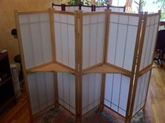The new shoji screen made in America by Andrew Miller of Padre Shoji based out of Minnesota. Just added to website