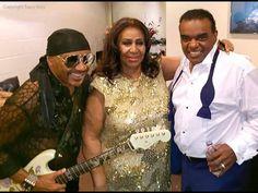 Ernie Isley, Aretha Franklin and Ron Isley