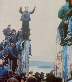 Berlin - Chute du mur  9/10 novembre 1989
