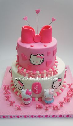 hello kitty cake - get happy birthday candles