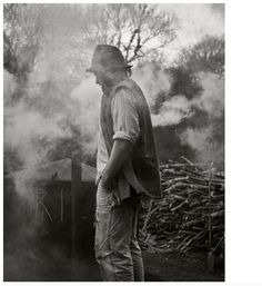 Slow Burn | Charcoal Burner Ben Short Photographed by James McNaught | Hole & Corner Magazine