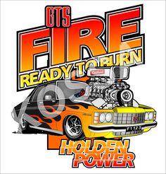 Fire Holden HJ Premier