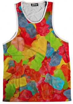 The Source for Rave Wear and EDM Inspired Apparel Tank You, Rave Wear, Gummy Bears, Festival Outfits, Edm, Jewelry Stores, Mens Tops, How To Wear, Clothes