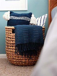 Exceptionnel 14 Soluciones Para Ordenar La Casa En Un Día. Storage For BlanketsBasket ...