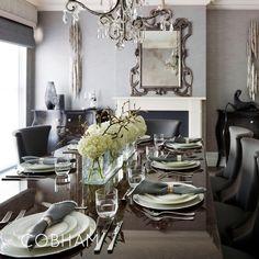 Stunning dining room! Sophie Patterson Interiors  Link to Cobham Portfolio