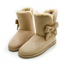 ugg boots - love the bows!! My seeeester now got my hooked on these expensive lovely cozy warm things!!!