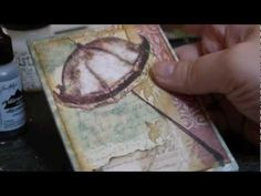 ▶ Fun and Beautiful Texture using Clear Crackle Paint and Alcohol Ink (Quick Tutorial) - YouTube