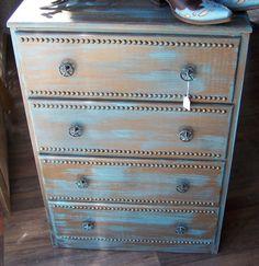 Western Style Dresser by HalfMoonEmporium on Etsy, $225.00