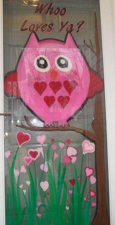 Valentine Window Painting
