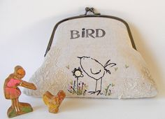 Handmade purse - cute!
