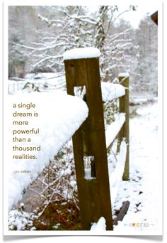Dream | iloveitallwithmonikawright.com