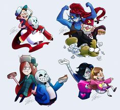 Gravity Falls and Undertale